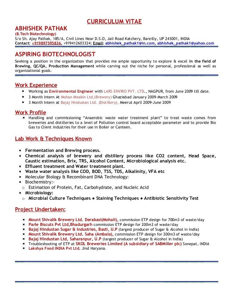 Resume Abhishek Pathak