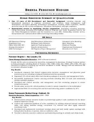 Talent Acquisition Manager Resume. Sample Operations Specialist Resume  Talent Acquisition Resume