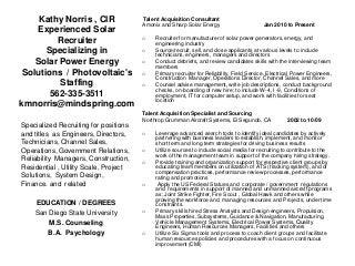 staffing specialist linkedin staffing specialist resume - Staffing Specialist Resume