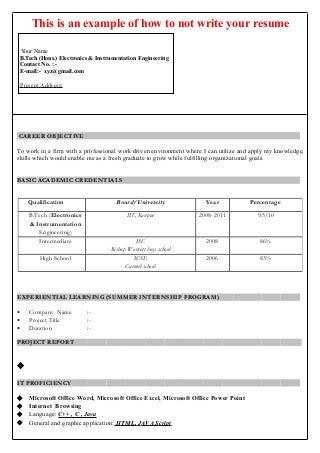 Latest Format For Making Resume New Style Resume Format Cv