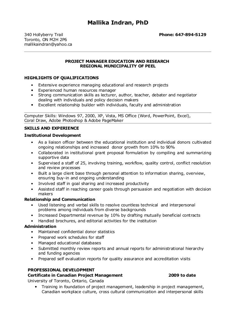 manager position resumes thevillas co