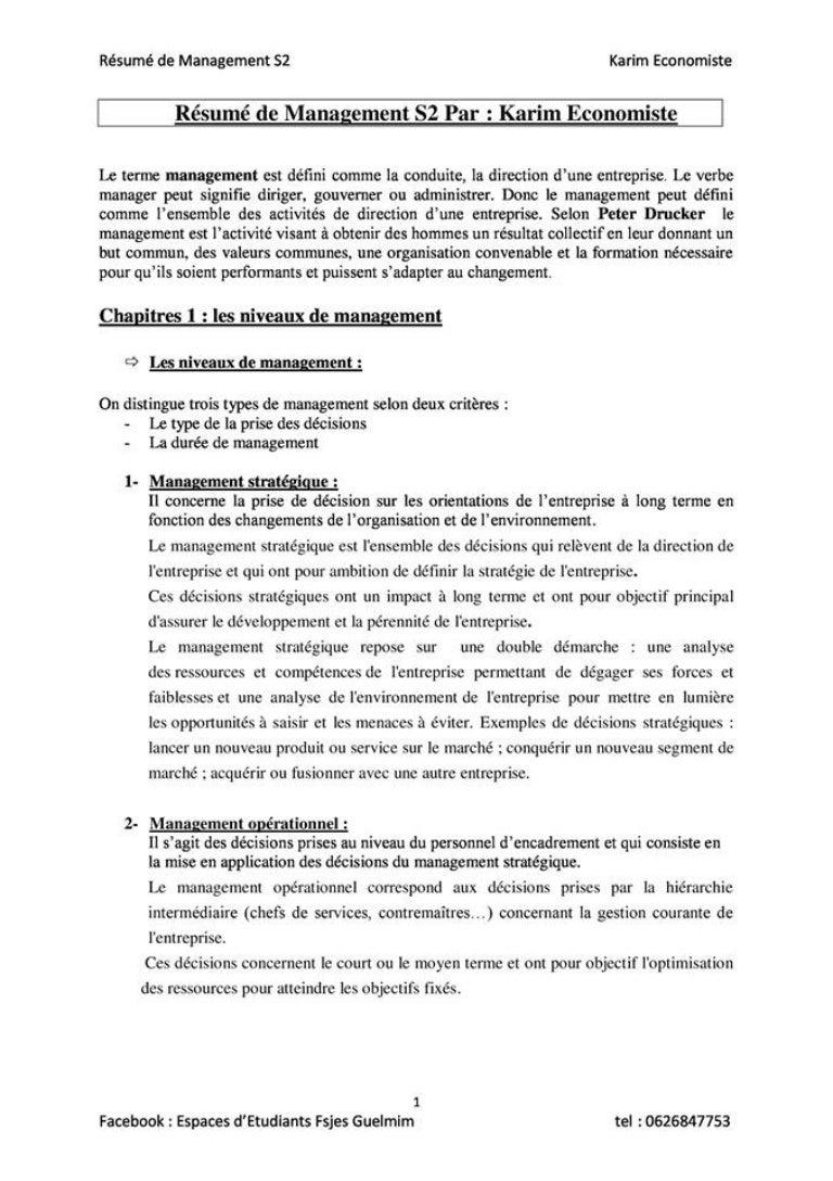 resume management s learneconomie pot com