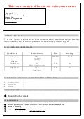 Attrayant MBA Resume Sample Format