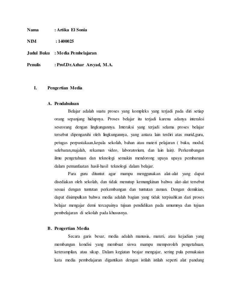 Cara Menulis Resume Buku Professional User Manual Ebooks