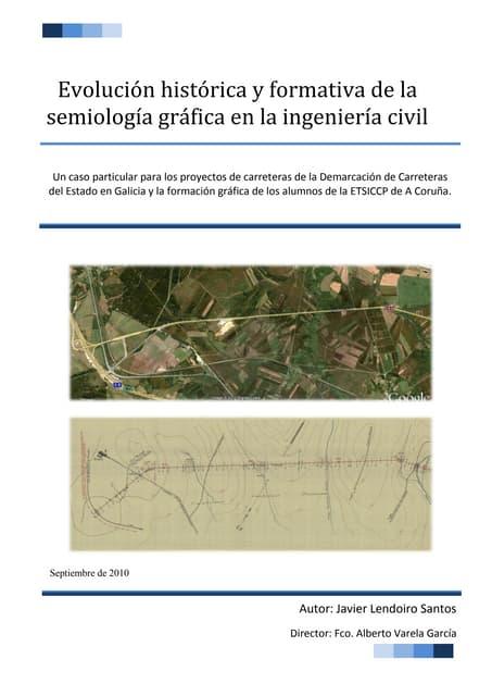 Evolución histórica y formativa de la semiología gráfica en la ingeniería civil