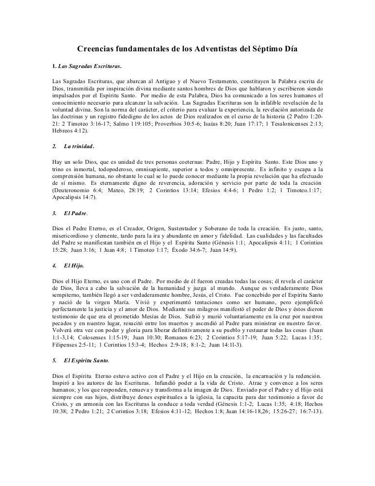 libro de las 28 creencias adventistas pdf