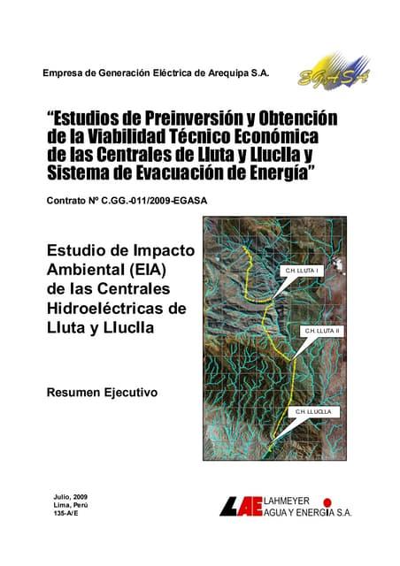 Resumen ejecutivo eia ch_lluta y lluclla_01_08_09