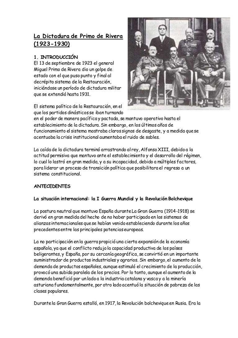Resumen primo de rivera.doc