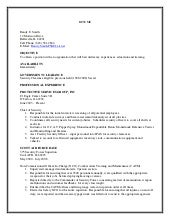 chief of securitys resume. Resume Example. Resume CV Cover Letter