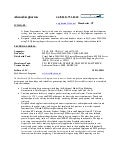 Resume - sql server developer