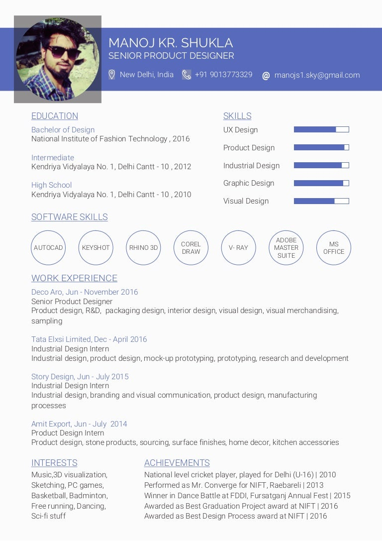 Resume Examples For Internship Resume For Internship Template Mba Lucaya  International School UI Designer Resume Example  Product Design Resume