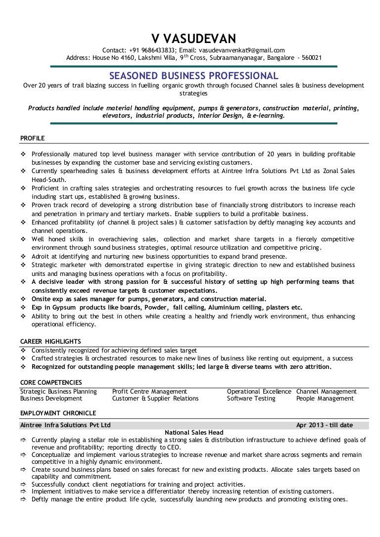 Resume vasudevan.doc