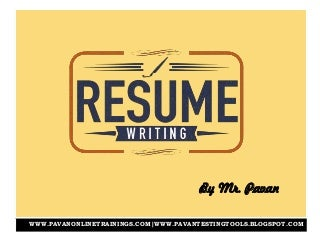 Resume Writing Services Indiana