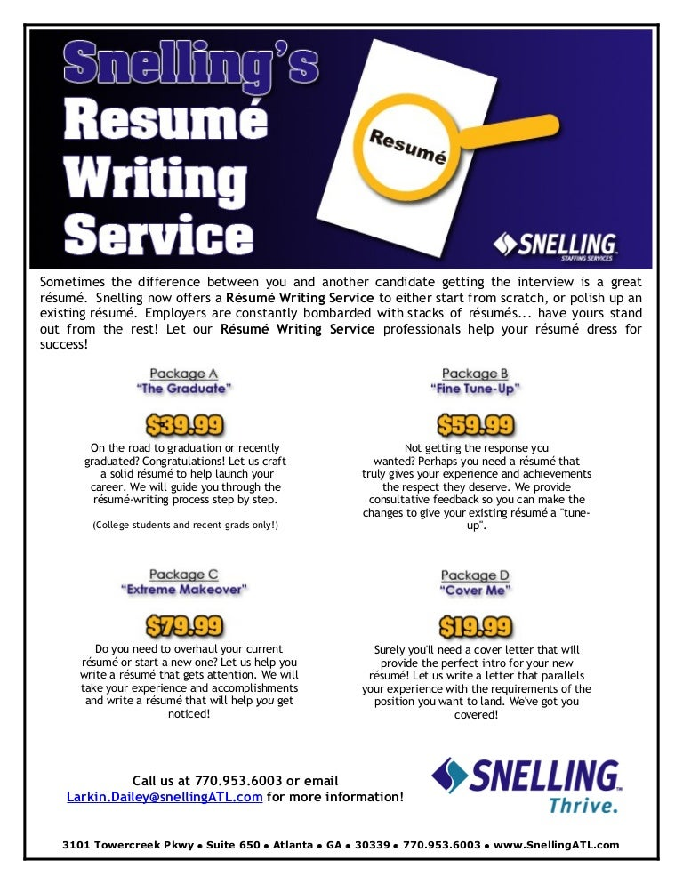 resume writers reviews