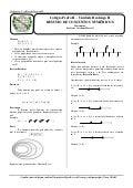 Resumo conjuntos numéricos