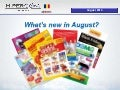 What's new in August 2014
