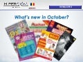 What's new in October?