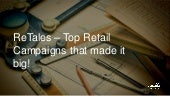 Top Global Retail Campaigns that made it Big!