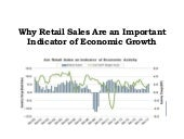Jaffrey Zafar Jr - Retail Sales Are an Important Indicator of Economic Growth