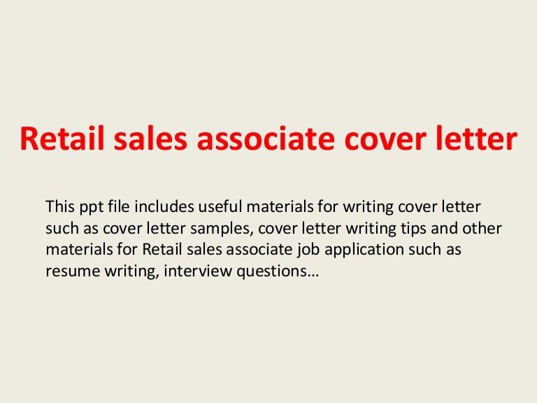 Sales Associate Cover Letter. Cover Letter Format Purdue Owl ...