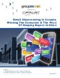 Retail Showrooming in Canada