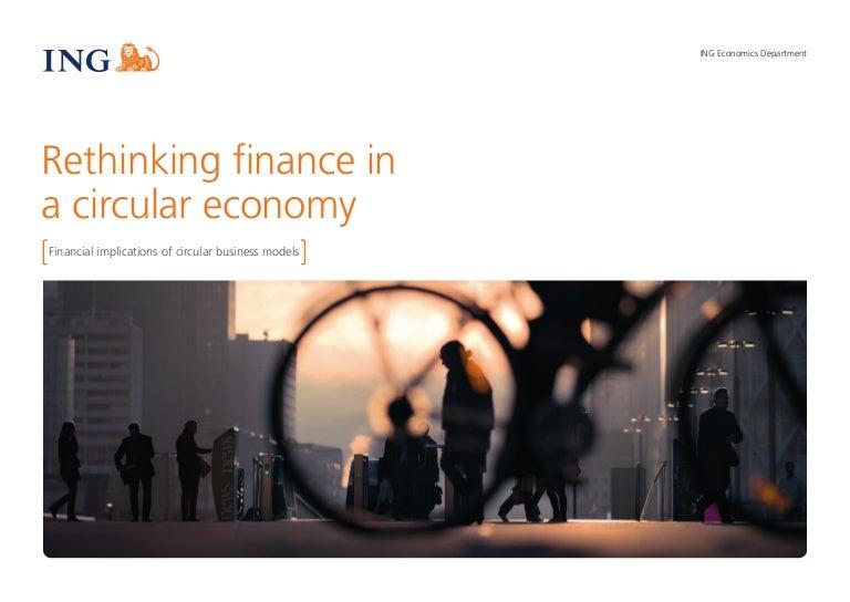 Rethinking Finance In A Circular Economy
