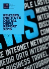 Reuters institute digital news report 2015 full report