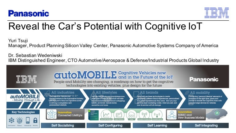 reveal the car u0026 39 s potential with cognitive iot