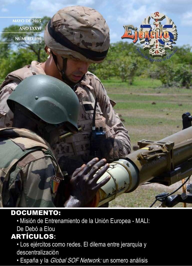 Revista Ejército nº 890. Mayo 2015
