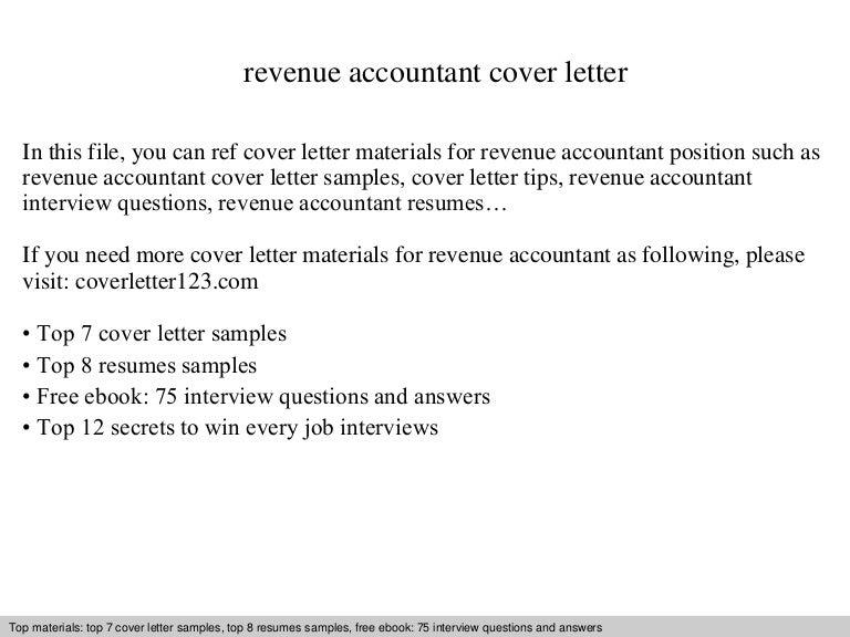 Amazing Revenueaccountantcoverletter 140829042002 Phpapp01 Thumbnail 4?cbu003d1409286026