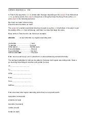 French worksheet: regular \'-re- verbs