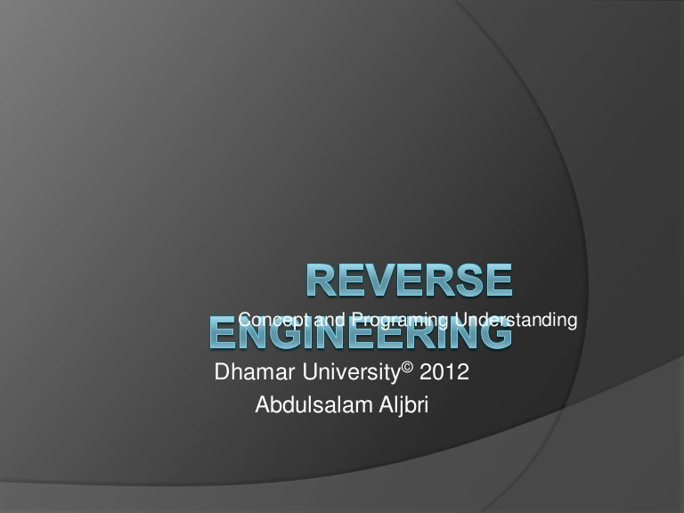 Revers engineering