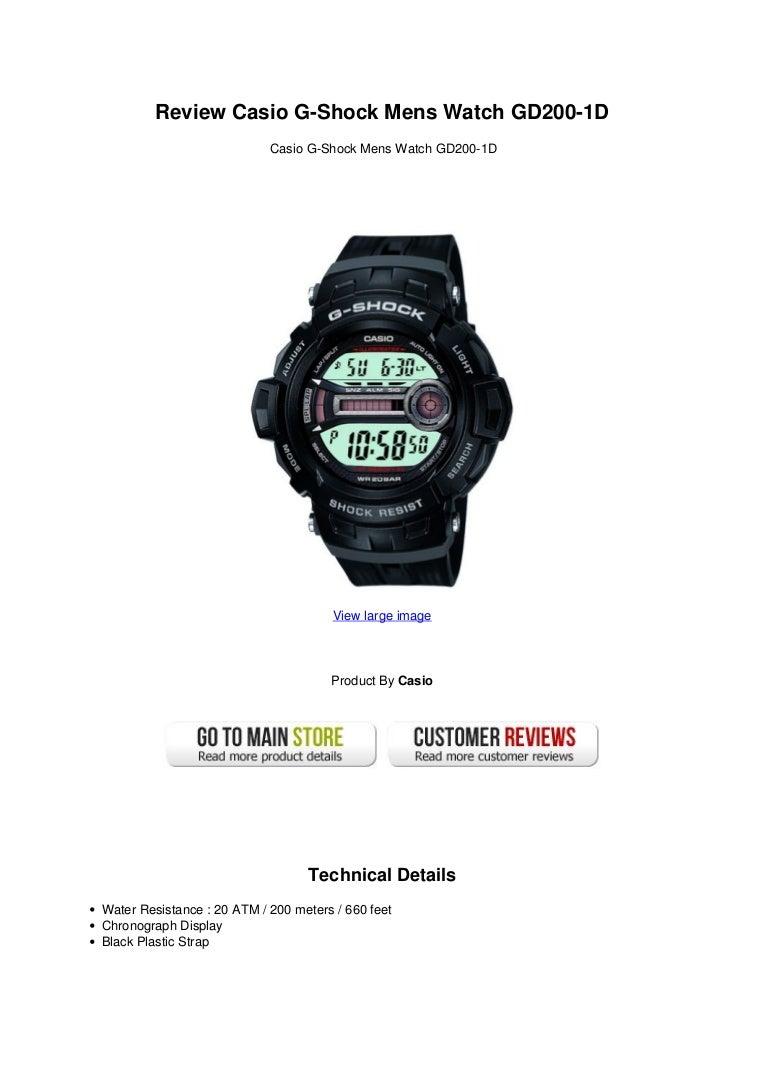 Review casio g-shock_mens_watch_gd200-1_d