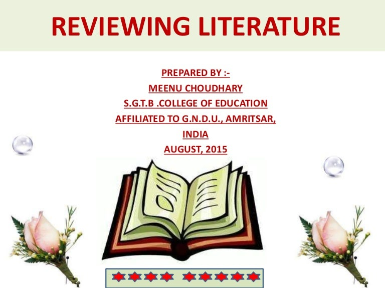 Review literature