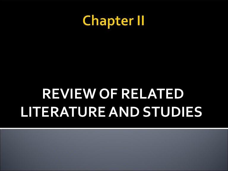 What is a Literature Review, Sagepub com