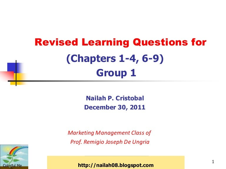 Revised Mt Questions