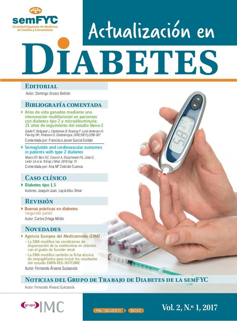 problemas reales de terapia farmacológica en diabetes