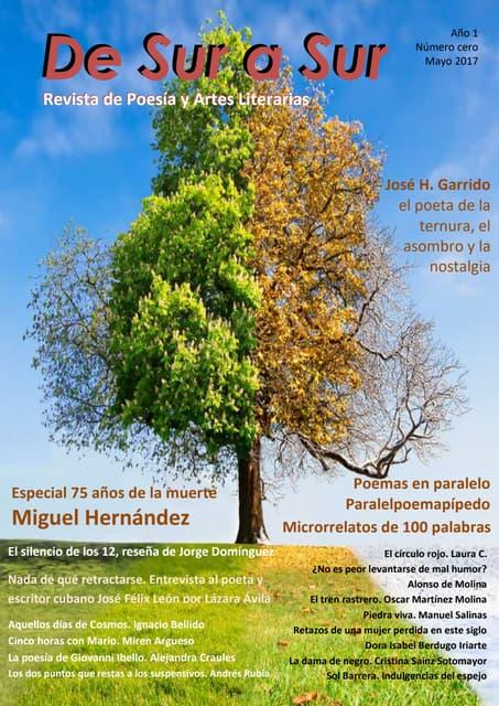 De Sur a Sur Revista de Poesía y Artes Literarias (Año I Cero)