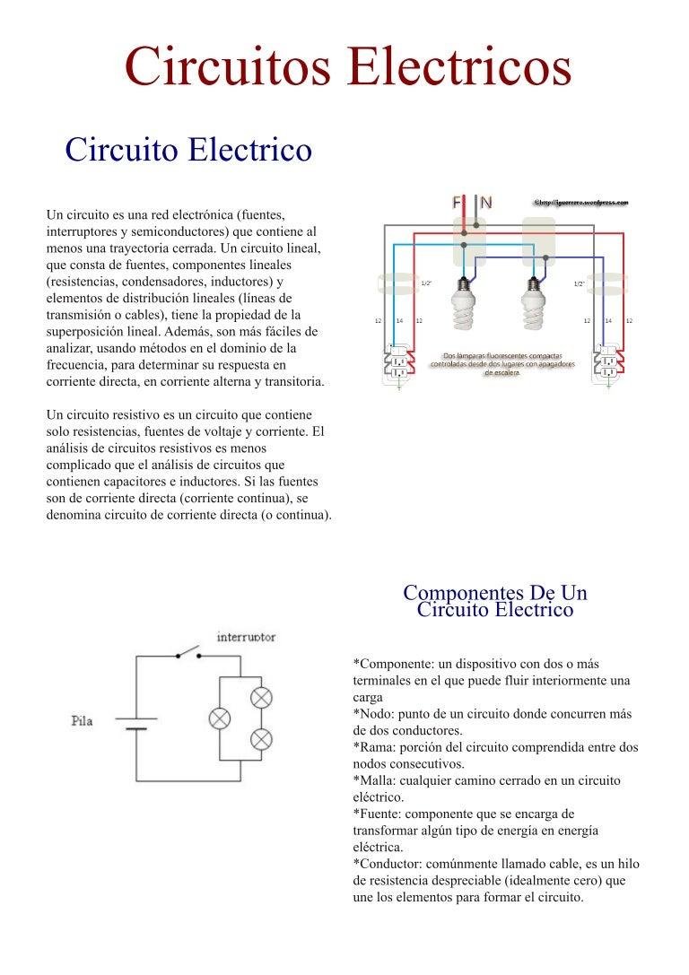 Circuito Lineal : Revista de circuitos eléctricos