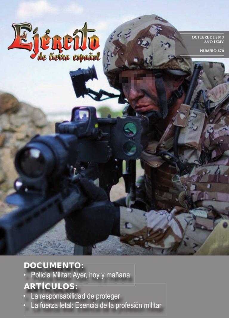 Revista Ejército nº 870 de Octubre 2013