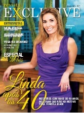Revista exclusive agosto 2014   linda aos 40