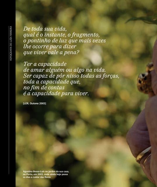 Revista ler agustina a_indomavel