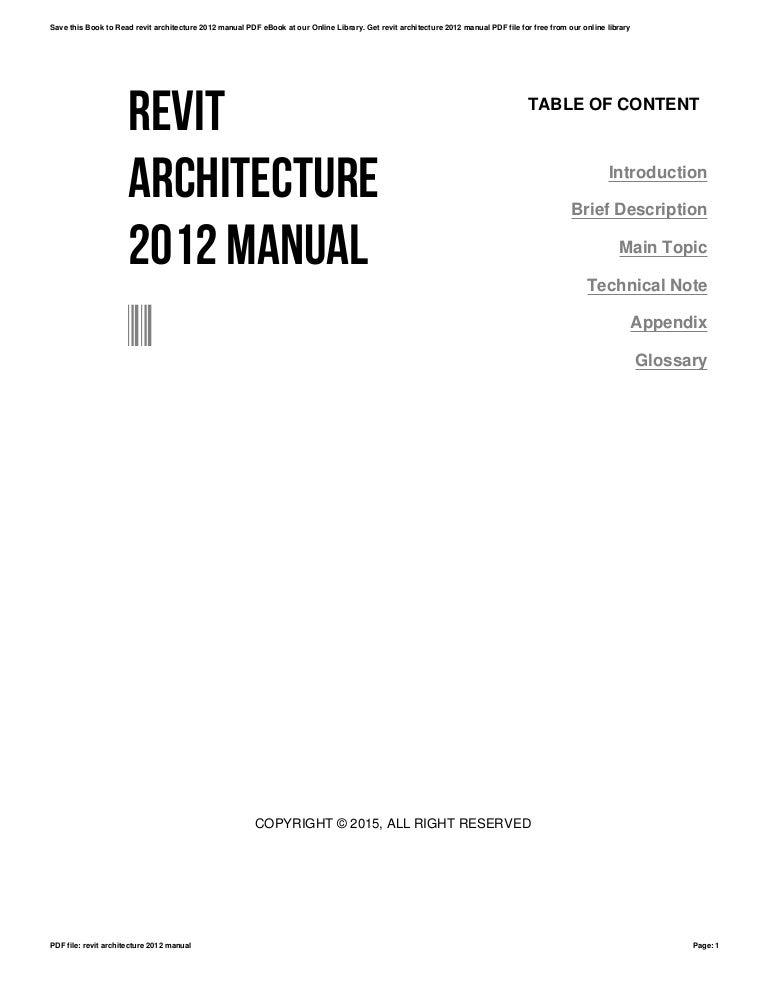 Revit architecture viewer 2012 download.