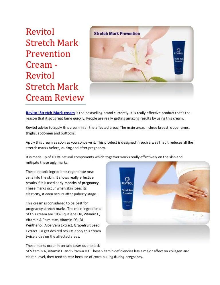 Revitol Stretch Marks Prevention Cream