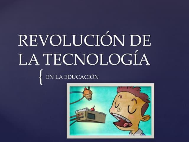 Revolución de la tecnología