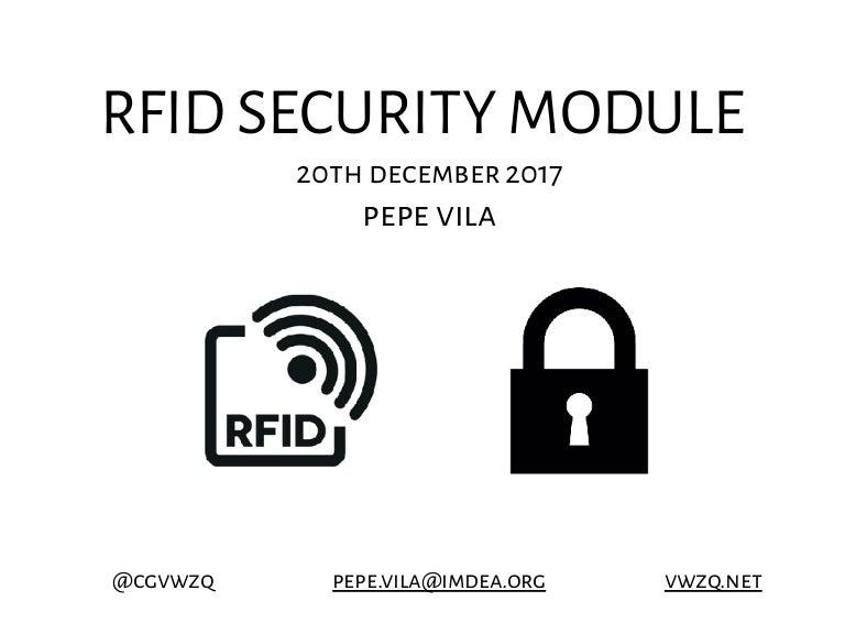 RFID Security Module