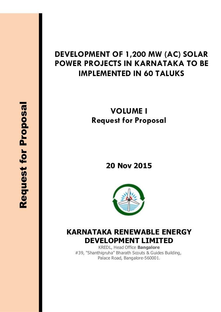 Rfp For 1200 Mw Solar Power Projects In Karnataka 1 Plant Block Diagram