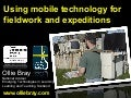 Using mobile technology for fieldwork and expeditions