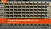 The new Janet access infrastructure