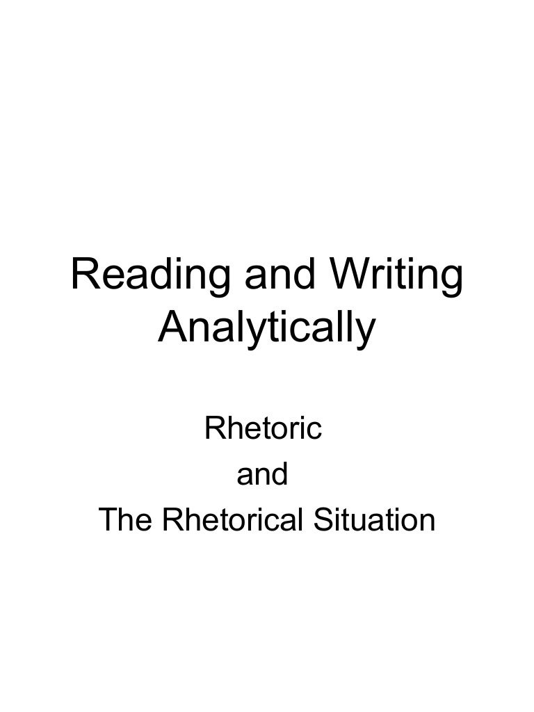 rhetorical framework
